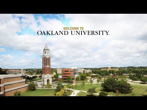 Welcome to oakland university