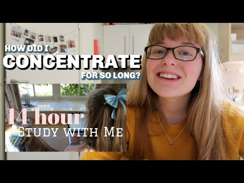 How to maintain concentration (for as long as 14 hours!)