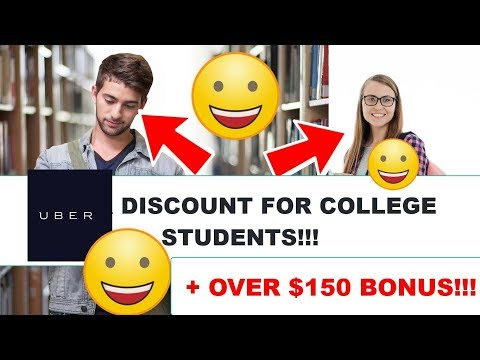 Uber discount for college students - easy college students discounts for uber and lyft today!!