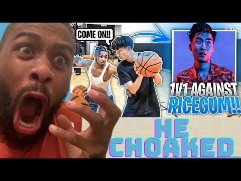 We almost fought!! ddg vs. ricegum!! **full basketball game*