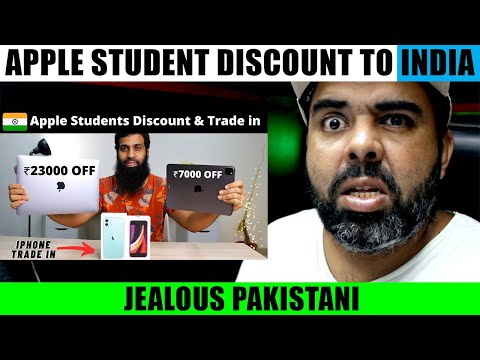 Pak reacts on | apple india students discount & iphone trade in india | explained in hindi | pnmm