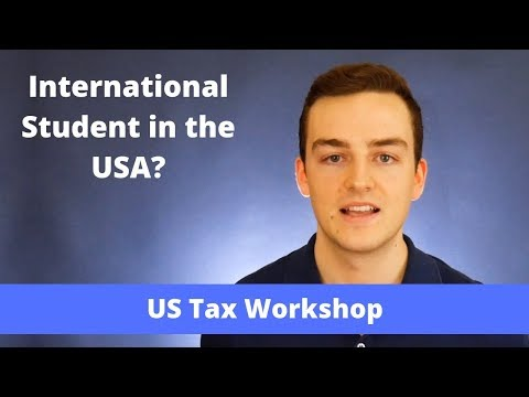 What are your tax filing obligations as an international student in the usa?