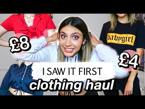 I saw it first try on haul | new in summer | june 2020