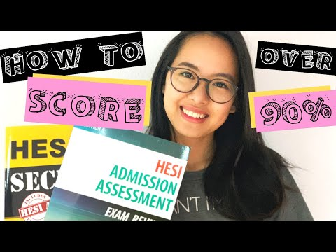 How to score over 90% on the hesi exam in less than 2 weeks!! (reading, math, anatomy sections)