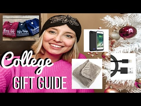 College student gift guide: christmas list ideas