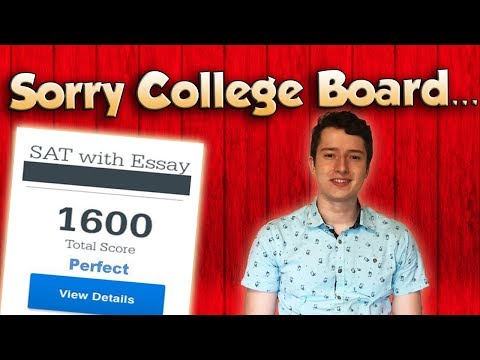 Improve your sat score by 300 points   how to get perfect on the sat & act (2019)