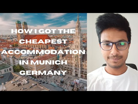 How i got the cheapest student accommodation in munich, germany, studentenwerk website complete info