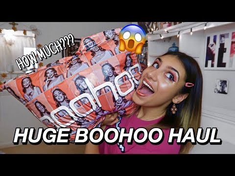Huge boohoo try on clothing haul | spring summer 2020 | what's *new in* may?!