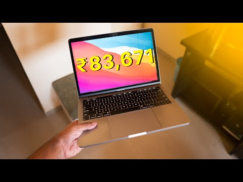 A macbook for ₹83,671?