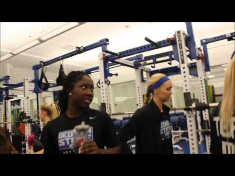 A day in the life of a georgia state softball player