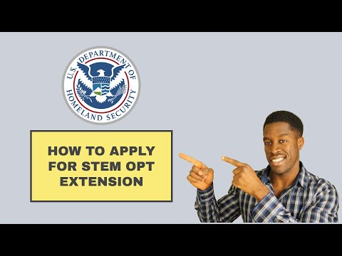 Applying for stem opt extension | how to complete form i983 training plan for f1 visa students
