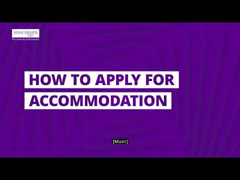 How to apply for accommodation