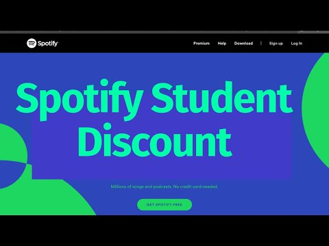 How to get spotify student premium account | spotify student discount