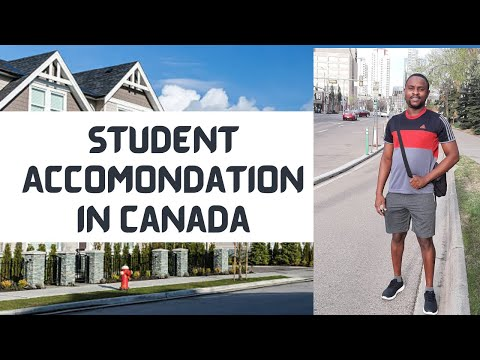 How to find accommodation in canada | student housing | room rent