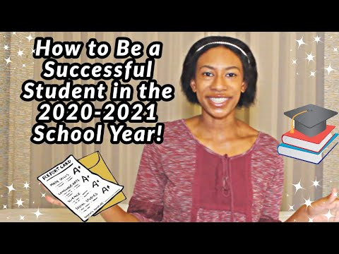 How to be a successful student for the 2020-2021 school year! || how i get straight a's!