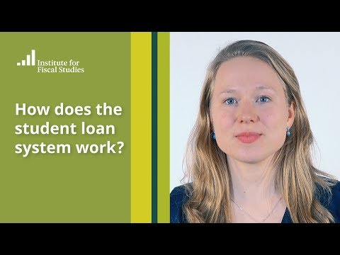 How does the student loan system work?