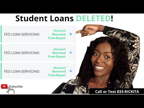 How to get rid of your student loans from your credit reports | student loans removed from credit