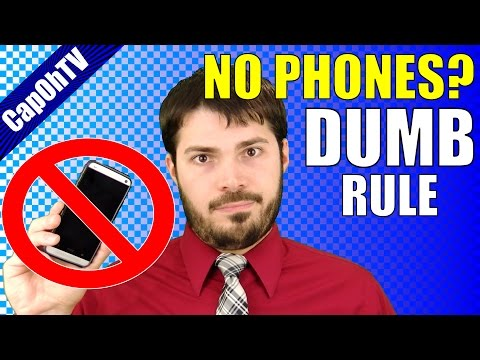 """I hate the """"no cell phones in school"""" rule    the myth of cell phone distraction in school"""