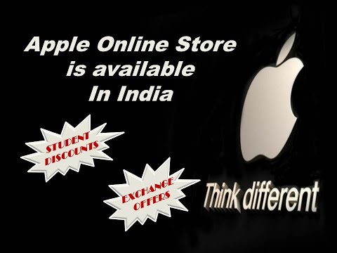 Apple online store in india is available now/student discounts/new cashback offers/new services.