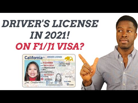 How to get a us driver's license as an international student in 2021! (real id on an f1/j1 visa)