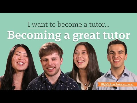 I want to become a tutor: how to be a great tutor