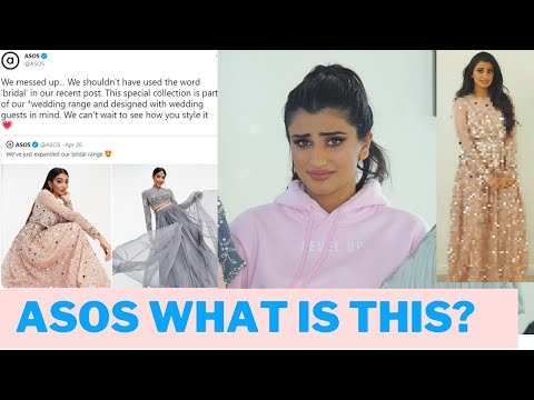 """I spent $600 on asos new indian """"bridal"""" collection...!?"""