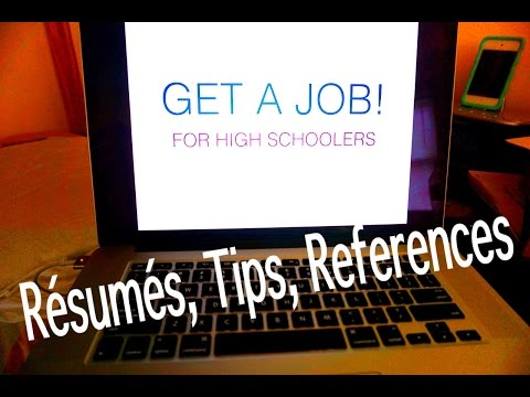 How to get a job & build your resume w/o experience! | for high school students (ages 16 )