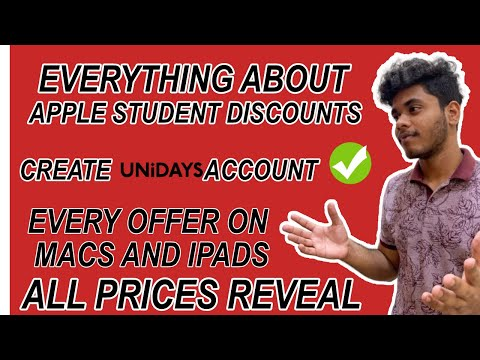 Apple student discounts create unidays account offers on apple macs and ipads 2020 
