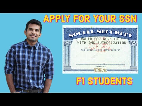 Explained: how to get social security number? | ssn | f1 international students | cjtalk