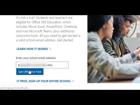 How to download office 365 as student for free