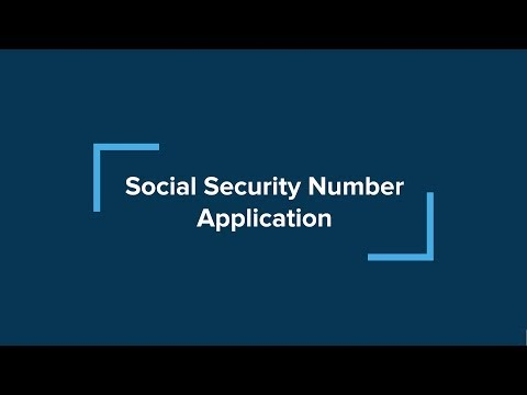 Isso immigration essentials for f-1 and j-1 students, part 4: social security number application