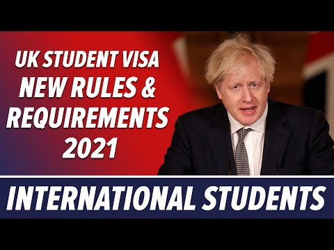 Uk student visa new requirements & rules 2021 | international students | study in uk | abroad