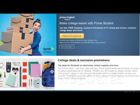 Amazon prime to prime student! how to switch from prime to prime student? -50% free six months!