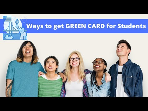 F1 student visa to green card | opt to us permanent residency steps explained