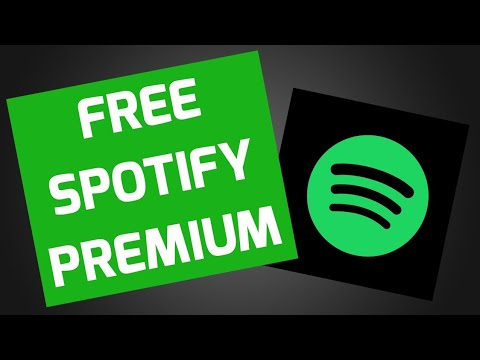 How to get a free spotify premium subscription!