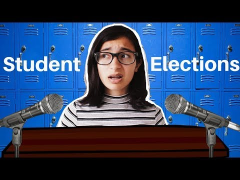 Winning student council elections with a meme || campaign and speech!