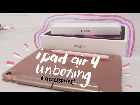 📦 unboxing ipad air 4 accessories (shopee)   apple philippines discount