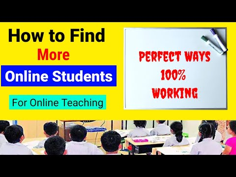 Online teaching tips for teachers | how to find students for online teaching & tutoring