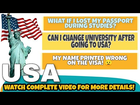 Usa f1 student visa - must know information before filing visa| when can i travel &much more | #12